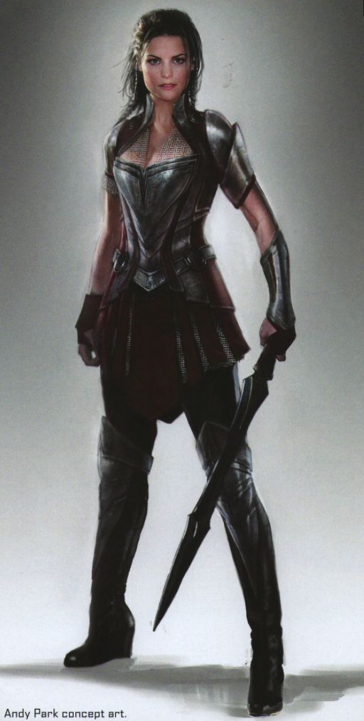 Lady Sif - Jaimie Alexander - Thor, The Dark World ...