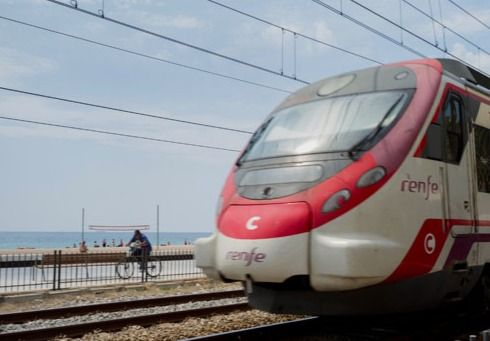 Explore the beaches of Costa Barcelona by train - You'll see one fantastic beach after another along the R1 commuter line, which offers some spectacular views between Sant Adrià de Besòs and Malgrat de Mar #BCNmoltmes