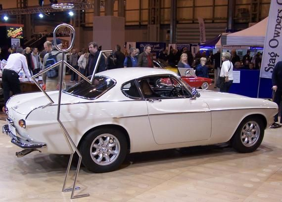 Photograph: Volvo P1800 The Saint ST1 (2011 Classic Car Show) – Digital Download jpeg jpg file