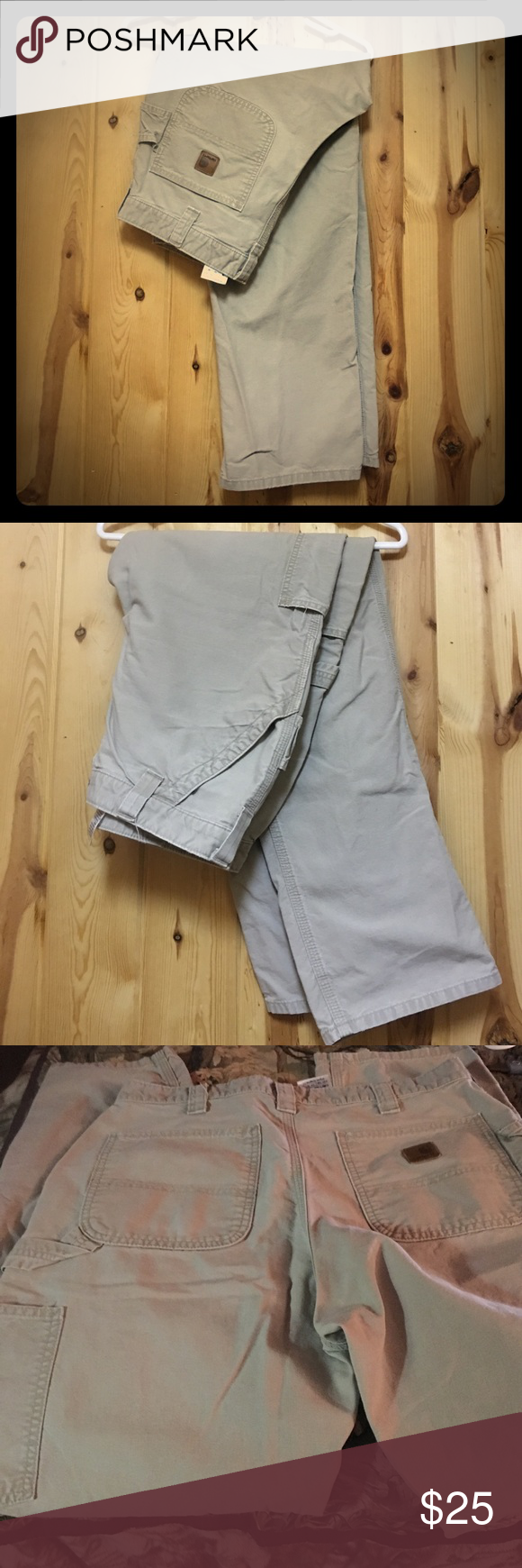 Carhart Cargo Pant 34x32 Men's GUC Carhartt Cargo Pant 34x32 Good Used Condition This pant is durable and made to last.  Multiple tool & Utility pockets Imported Heavy Hauling reenforced Pockets Keen Pants