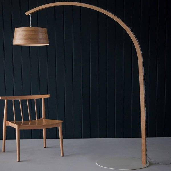 Tom Raffield Tom Raffield Stem Floor Wooden Arc Lamp Booglamp Verlichting Huisdecoratie