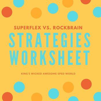 Superflex vs. Rockbrain Worksheet   Worksheets