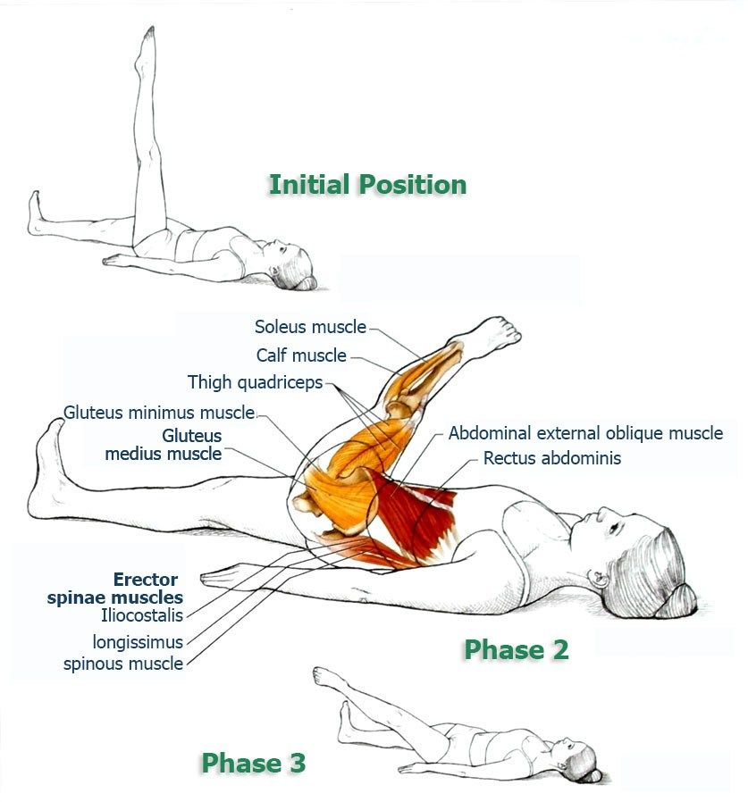 Leg Circle Abdominal Exercises For Spinal And Core Stabilization
