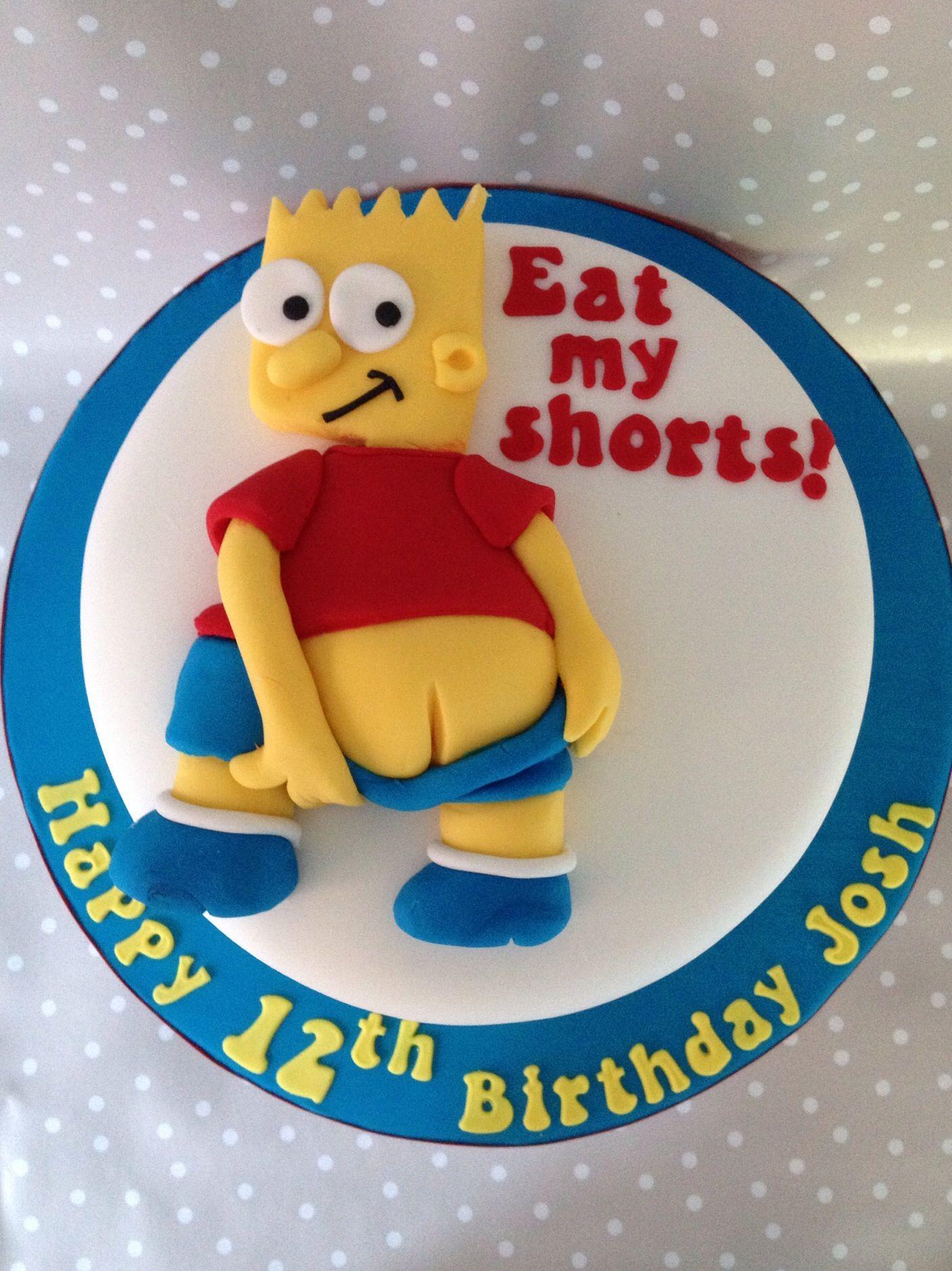 Bart Simpson Cake Legos Simpsons Cake Cupcake Cakes Cake