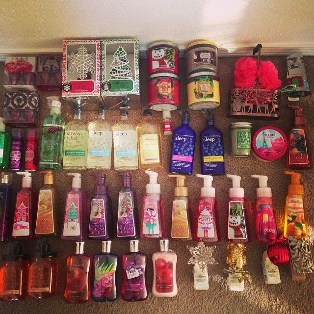 Bath And Body Works Semi Annual Haul Winter 2013 Bath Body