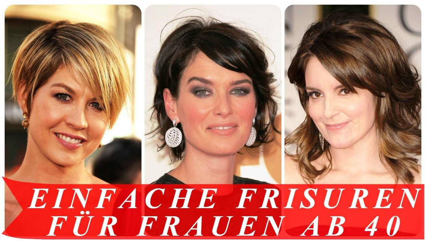 Einfache frisuren für frauen ab 28 - YouTube #Frisuren ...