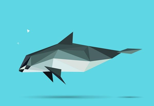 Geometric Shapes Piece Together To Form Striking Images Of Endangered Species - DesignTAXI.com