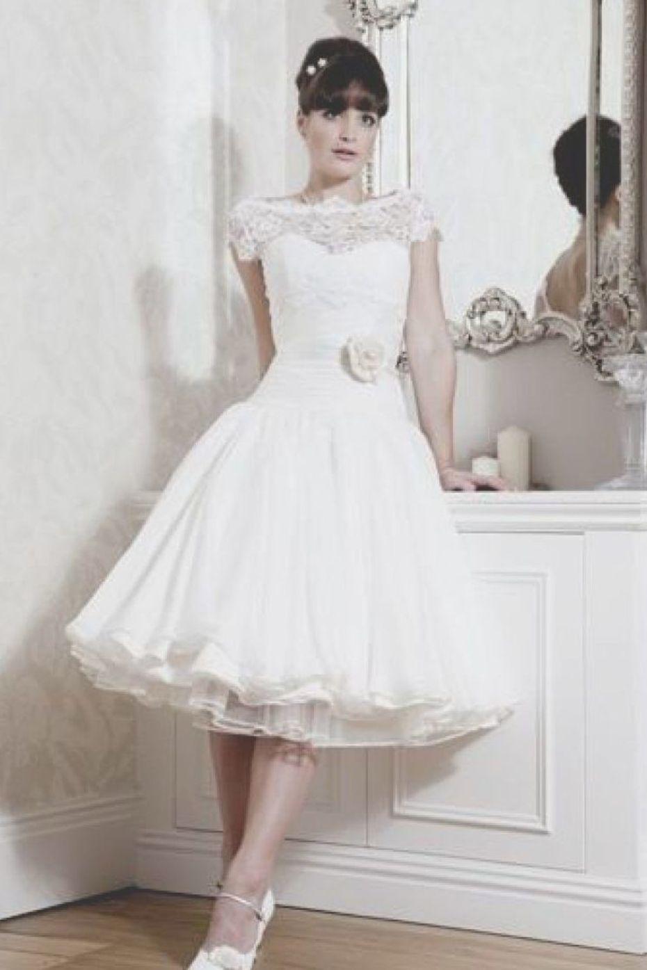 Luxury Vintage 50s Wedding Dresses Wedding Ideas Wedding Dresses 50s Vintage Dresses 50s Short White Lace Wedding Dress