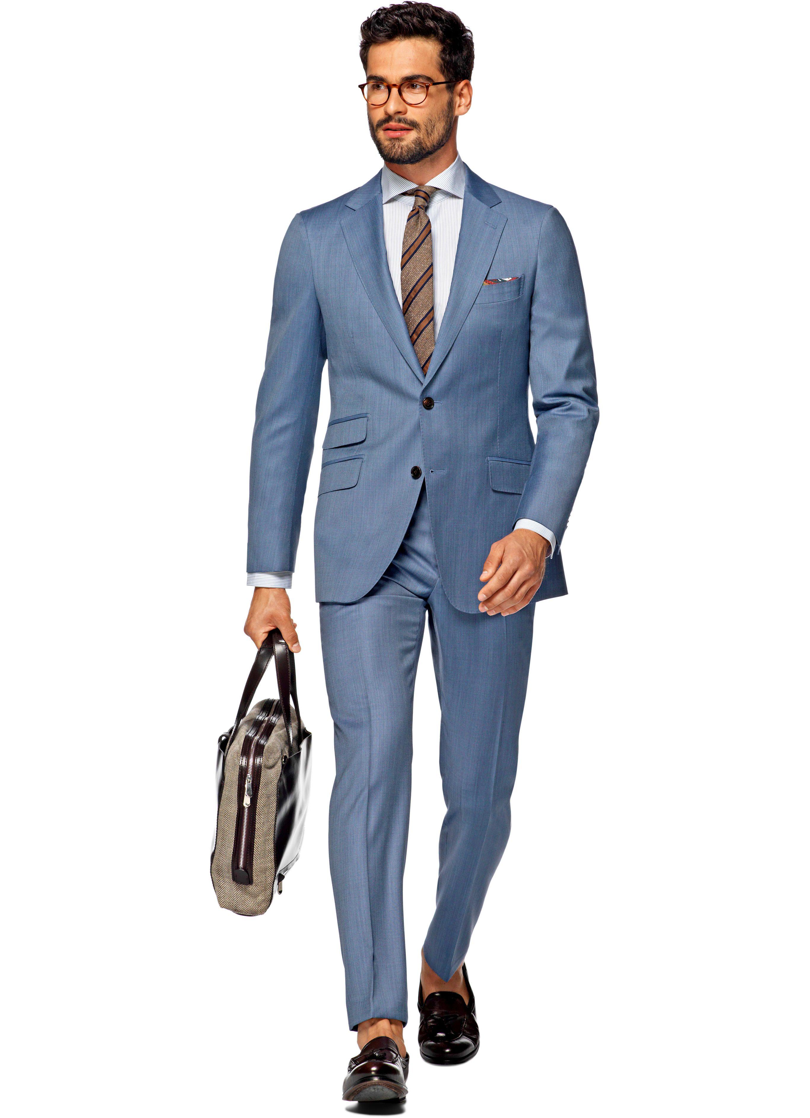 Suit Blue Plain Sienna P3994i | Suitsupply Online Store | Wedding ...