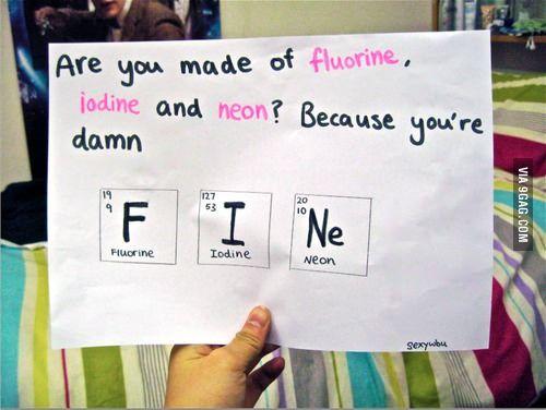 Element pick up lines