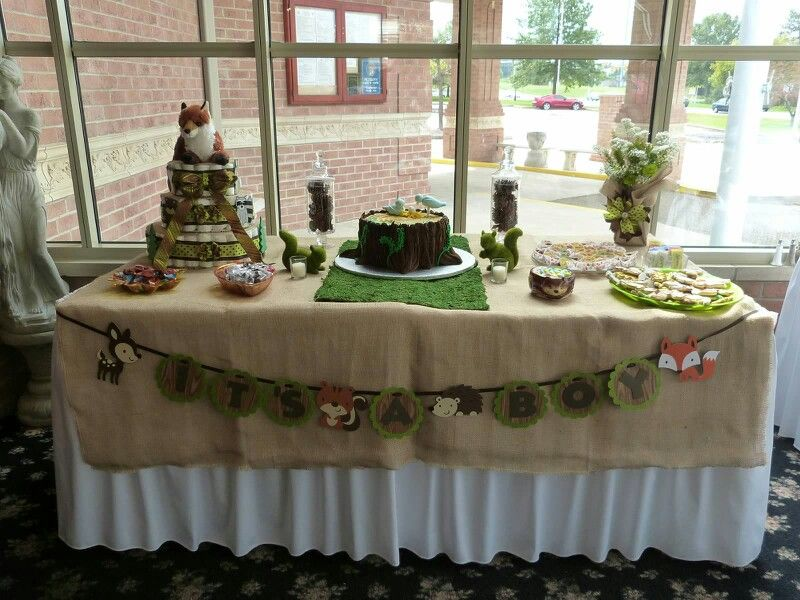 cakes woodland baby shower cake baby shower future baby dessert table