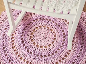 Mandala Rug Free Crochet Patterns