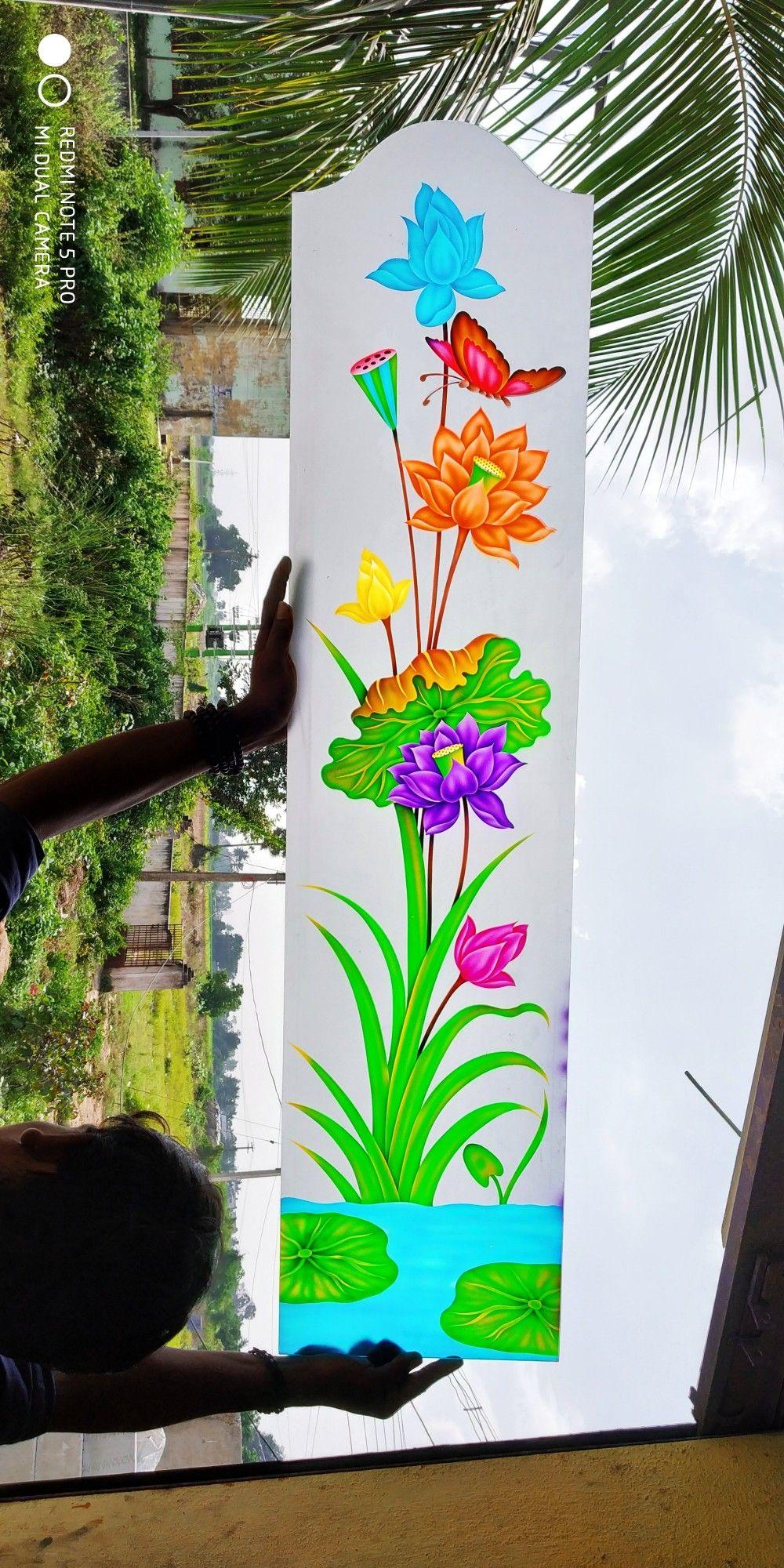 Pin By Suryakameswara Rao On Glass Door Glass Design Window Glass Design Glass Painting Designs