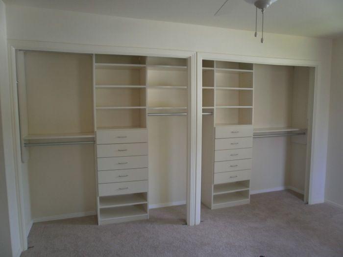 Double closet doors w one opening designs good ideas - Master bedroom closet door ideas ...
