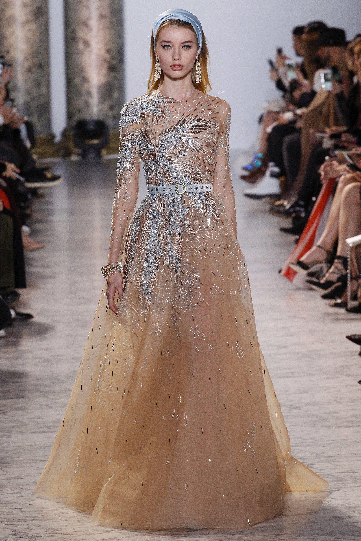 Elie Saab Spring 2017 Couture Fashion Show | Pinterest | Elie saab ...