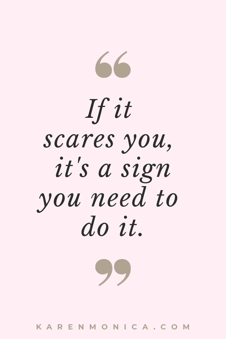 Motivation Quotes About Overcoming Fear