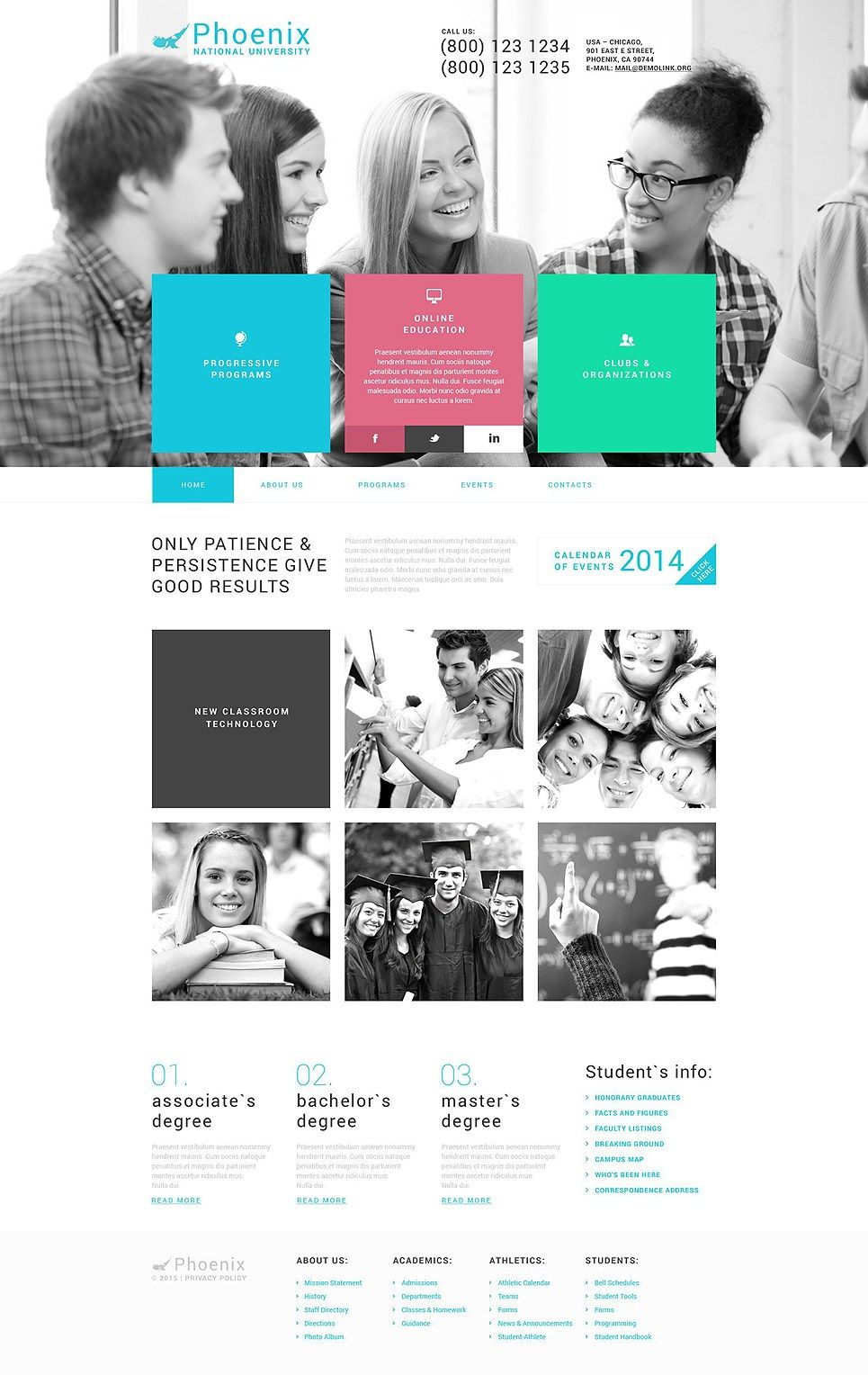 12 Best High School College University Wordpress Themes Online Web Design School Website Web Design Quotes