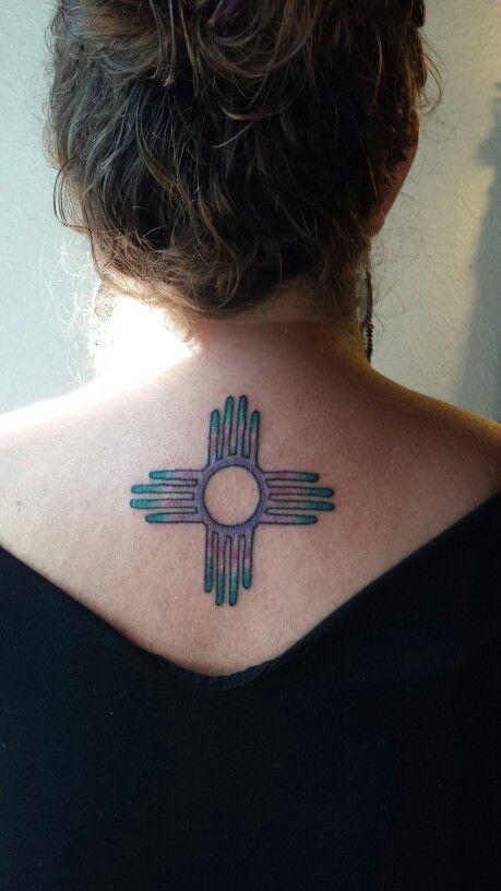 Zia Symbol Tattoo By Derek Victory Tattoo In Chico Ca On Nora