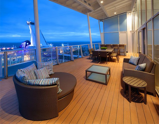 Royal Loft Balcony Suite On Harmony Of The Seas One Bedroom Aquatheater Suite With Harmony Of The Seas Cruise Tips Royal Caribbean Royal Caribbean Cruise Ship