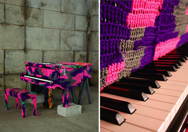 # sing for hope pop-up piano @ dumbo nyc