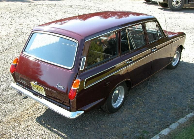 Ford Cortina MkI Estate 1967.