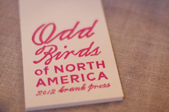odd birds of north america calendar
