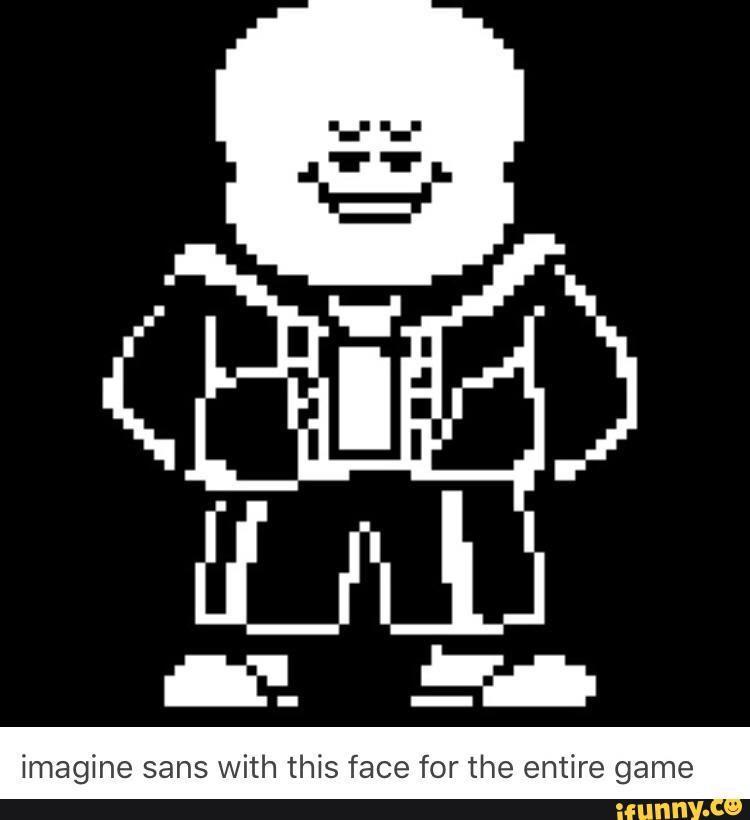 Sans Roblox Face