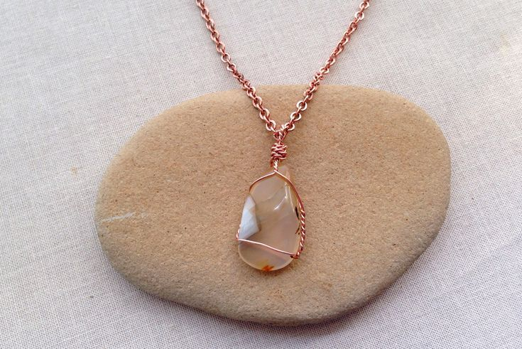 Photo of Learn How to Make a Polished Stone a Pendant Necklace