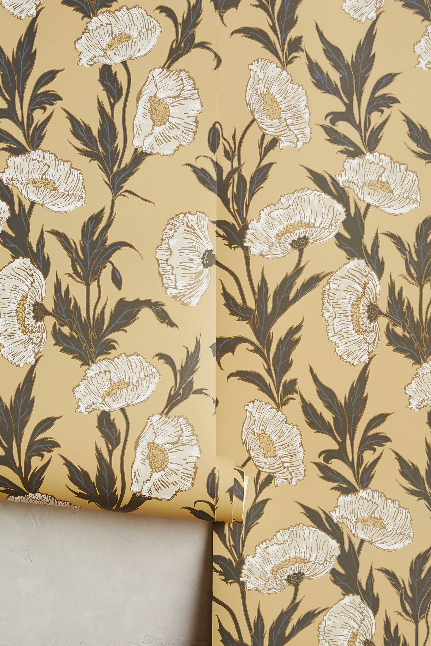 Shop the Bloom By Bloom Wallpaper and more Anthropologie at ...
