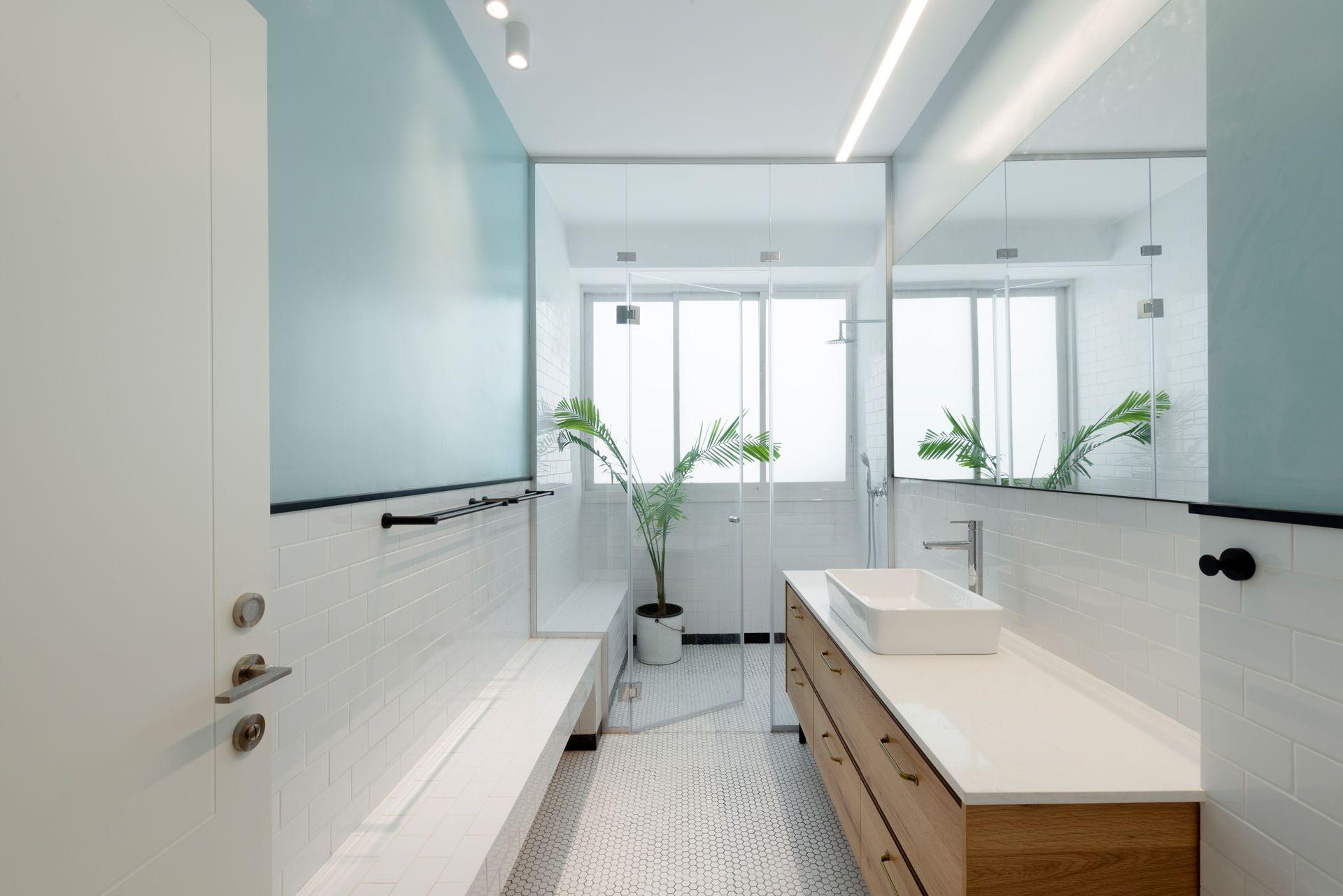 Sala Da Bagno Moderna : 18 idee colore per la stanza da bagno living corriere home
