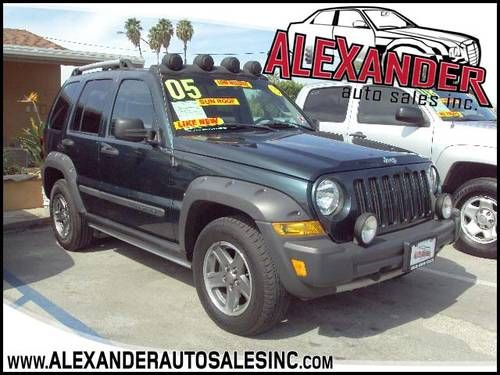 2005 Jeep Liberty Renegade Rocky Mountain Edition Sunroof Clean