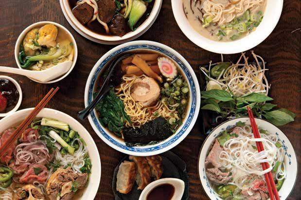 7 Favorite Hot Noodle Soups