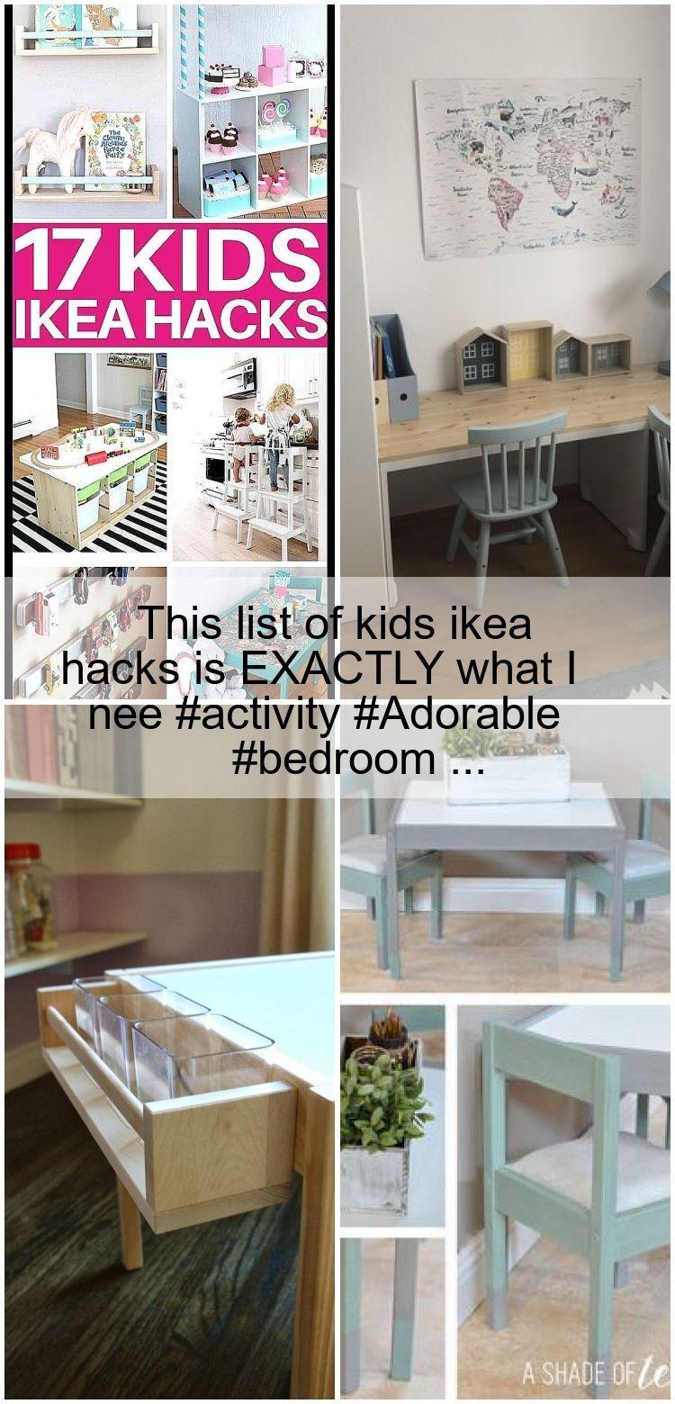 Diese Liste Der Kinder Ikea Hacks Ist Genau Das Was Ich Aktivitat Adorable Bedroom Ikea Hacks Ikea Bucherregal Kinder