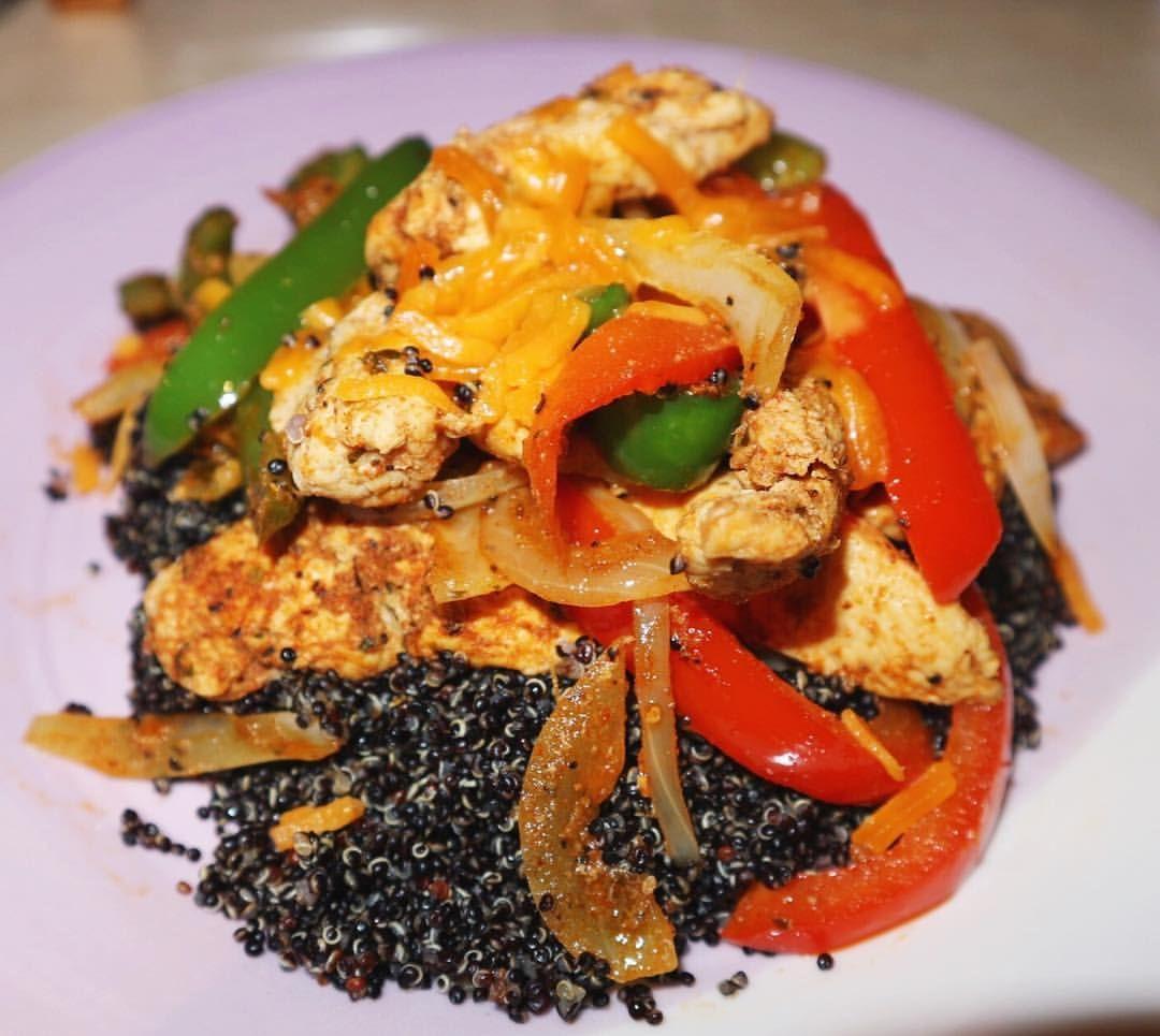 Chicken fajita quinoa Seasoning 1 tsp garlic powder 2 tsp