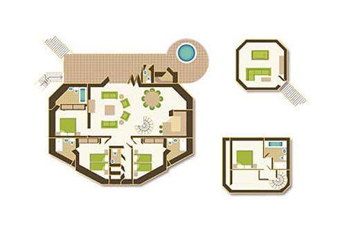 Floorplan Center Parcs Uk Tree House Short Break