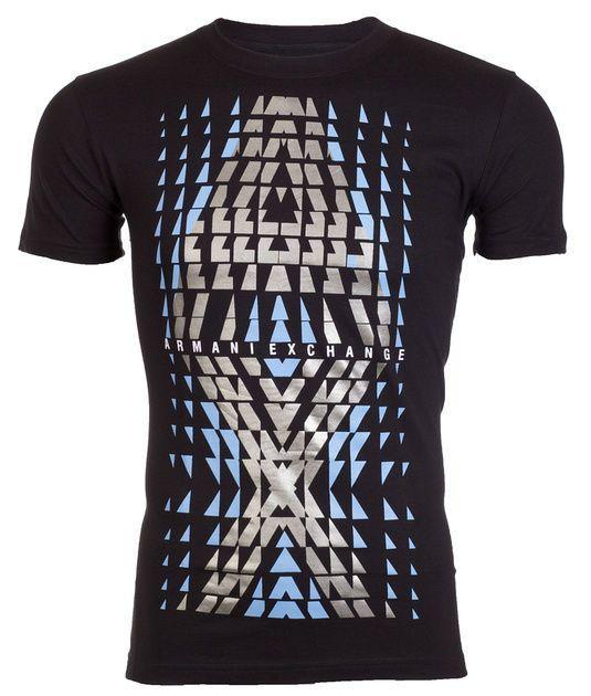 ARMANI EXCHANGE Mens T-Shirt Slim Fit BIG AX LOGO Casual Designer M-XL  48  NWT  AXArmaniExchange  GraphicTee a6e6fab63f32d
