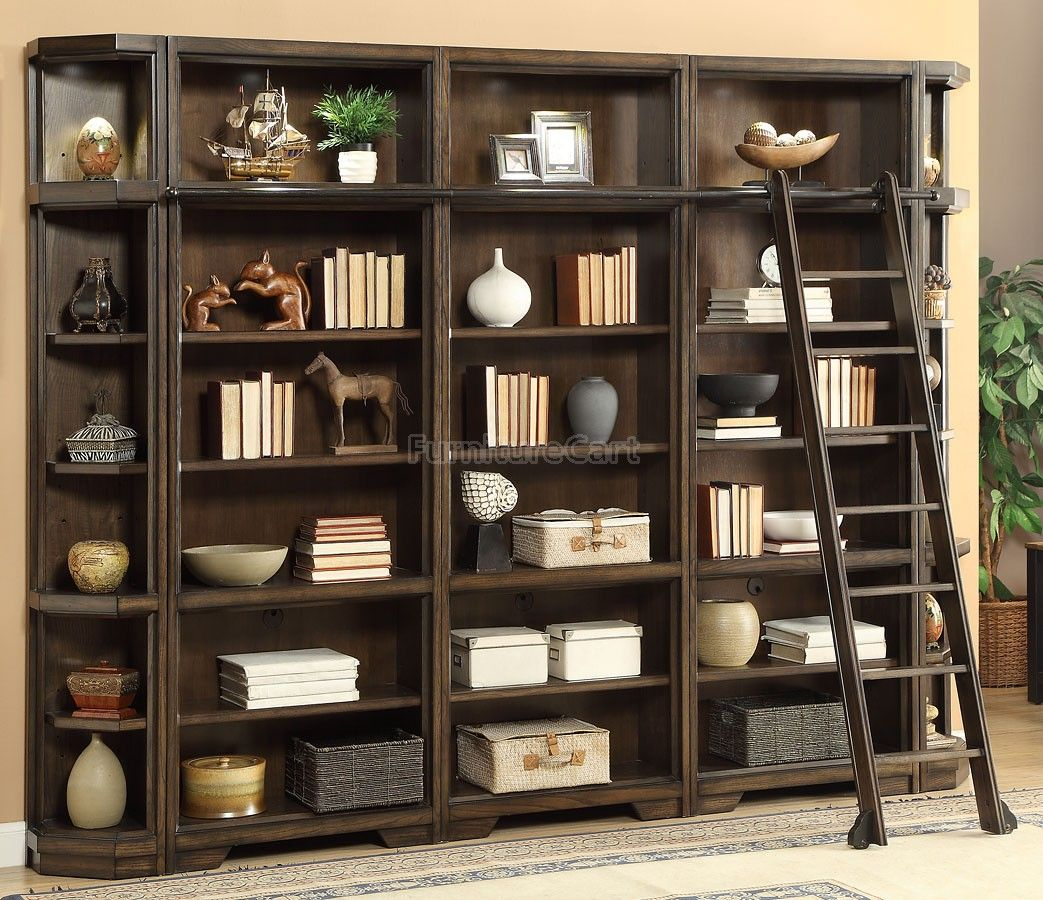 Meridien Modular Open Bookcase Wall Bookcase Wall Parker House Bookcase Decor
