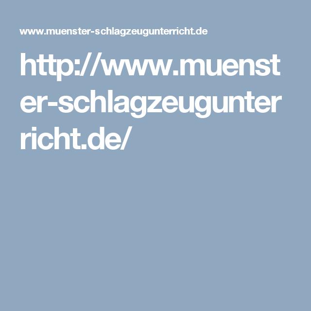 http://www.muenster-schlagzeugunterricht.de/
