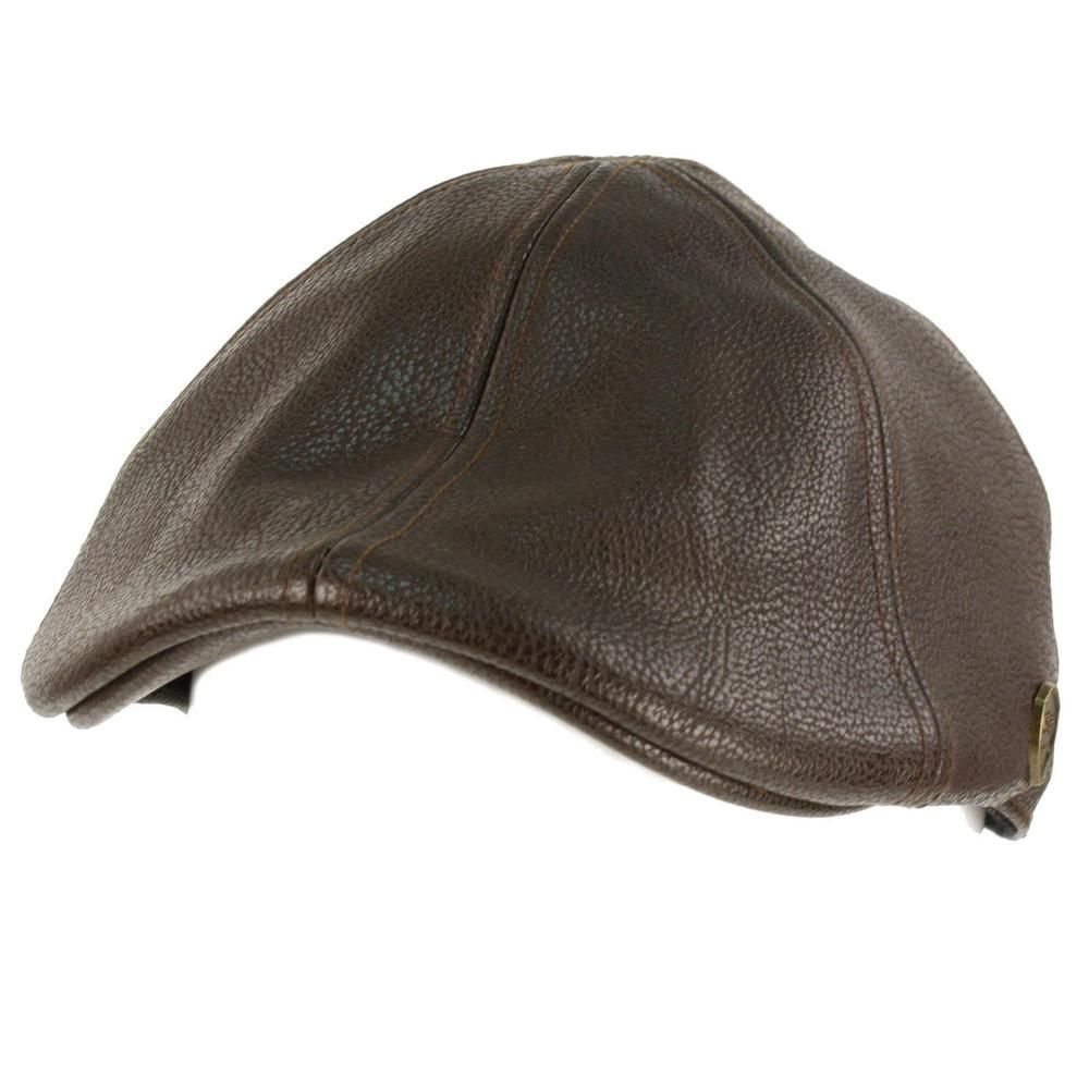 dfa9d29d Men's Winter Fall Faux Leather Duckbill Ivy Driver Cabbie Cap Hat #fashion  #clothing #shoes #accessories #womensaccessories #hats (ebay link)