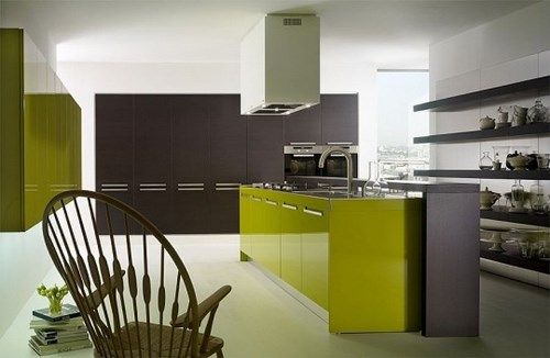 Muebles Verdes Cocina Muebles Verdes Cocinas Diseno De Cocina