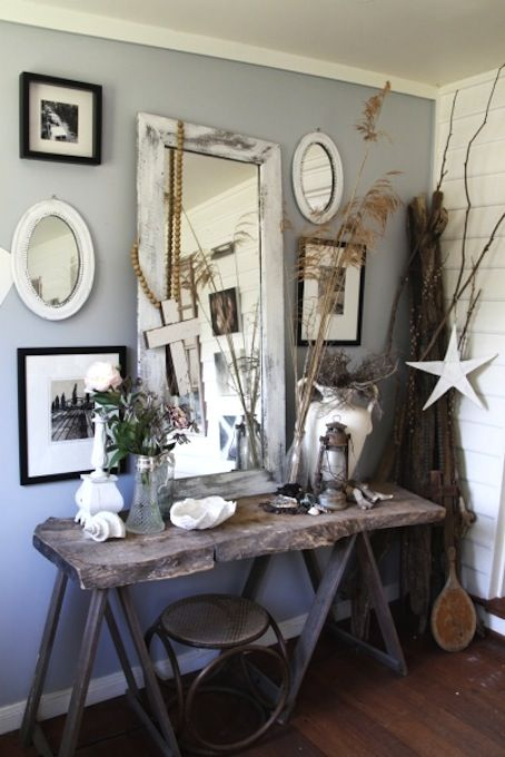 Rustic Coastal Interiors