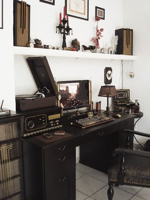 Image Result For Steampunk Office