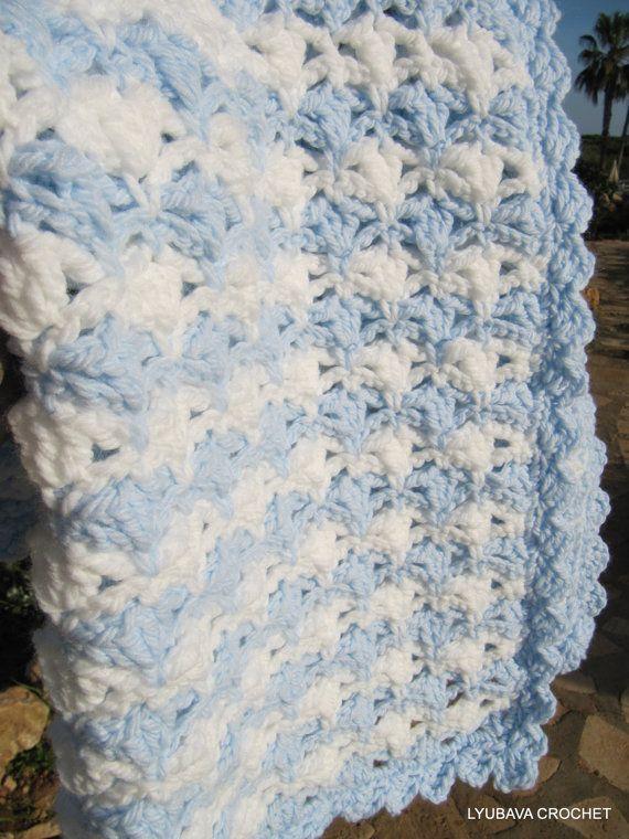 Crochet Baby Blanket, New Baby Blanket \