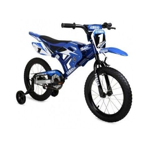 16 Kids Bike Boys Moto Dirt Yamaha Motocross Bmx Motorcycle Style