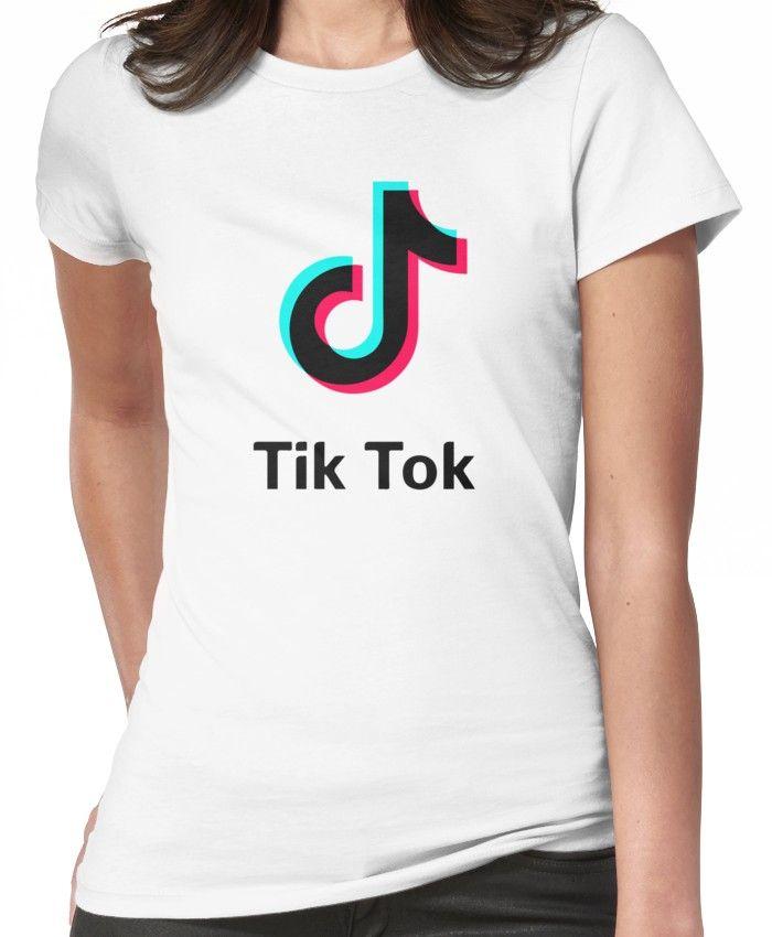 tik tok Women's TShirt T shirts for women, T shirt, Tik tok