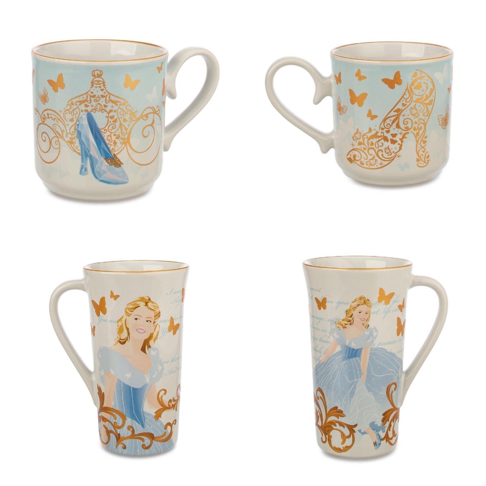 Disney Mugs, Mugs, Mugs Set