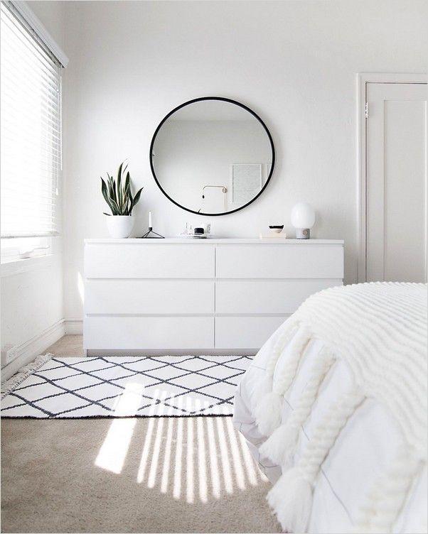 Ikea White Bedroom Furniture In 2020 Scandinavian Interior Design Inspiration Scandinavian Dining Room Scandinavian Design Bedroom