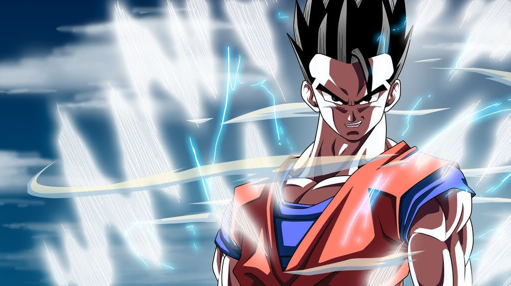 Gohan Mistico Dragones Anime Japones Personajes De Dragon Ball
