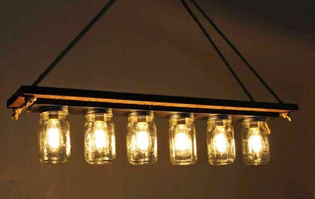 Si te faltan luces en casa aprende a hacer una incre ble - Hacer una lampara ...