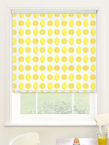 When Life Gives You Lemons, Make A Colourful And Quirky Roller Blind!